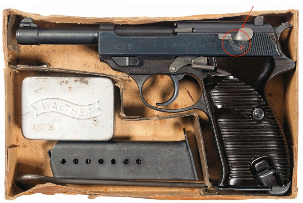 Walther P.38 Marquages en blanc 14554511