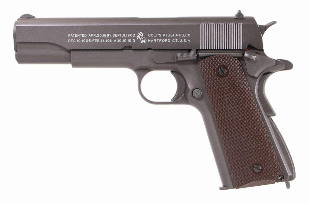 Meilleure réplique airsoft tout métal de Colt 1911 A1 ? 35599610