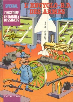 BD sur l'histoire des armes Encycl10