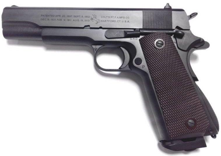 Meilleure réplique airsoft tout métal de Colt 1911 A1 ? Inokat11