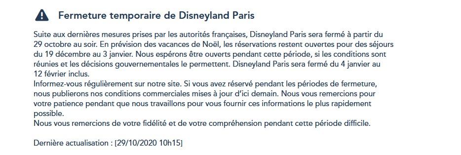 La fermeture de Disneyland Paris pendant la 2ème vague de COVID-19 (jusqu'au 1er avril 2021 inclus) - Page 3 Captur10