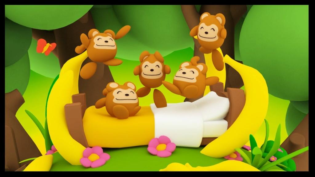 Cherche dessin animé vhs sur des singes qui font des bêtises Maxres10