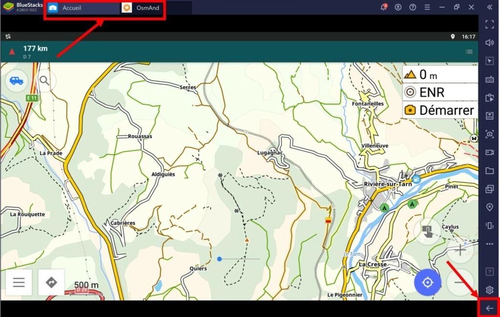 Utiliser Osmand sur PC Windows 10 Tt426