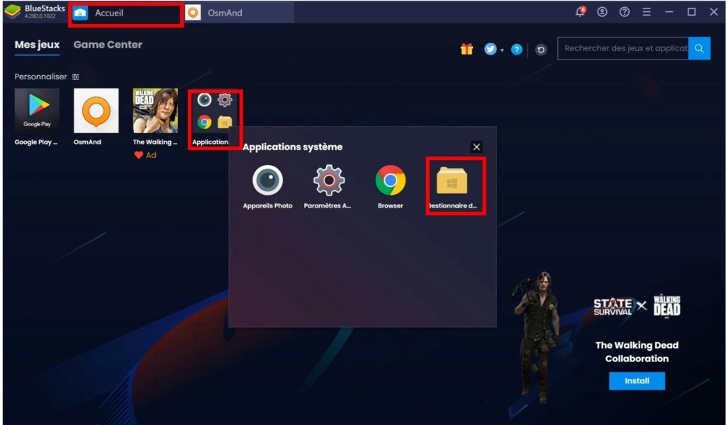 Utiliser Osmand sur PC Windows 10 Tt520