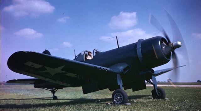 [Revell + Scratch] Vought XF4U-3B Corsair - Terminé 1103