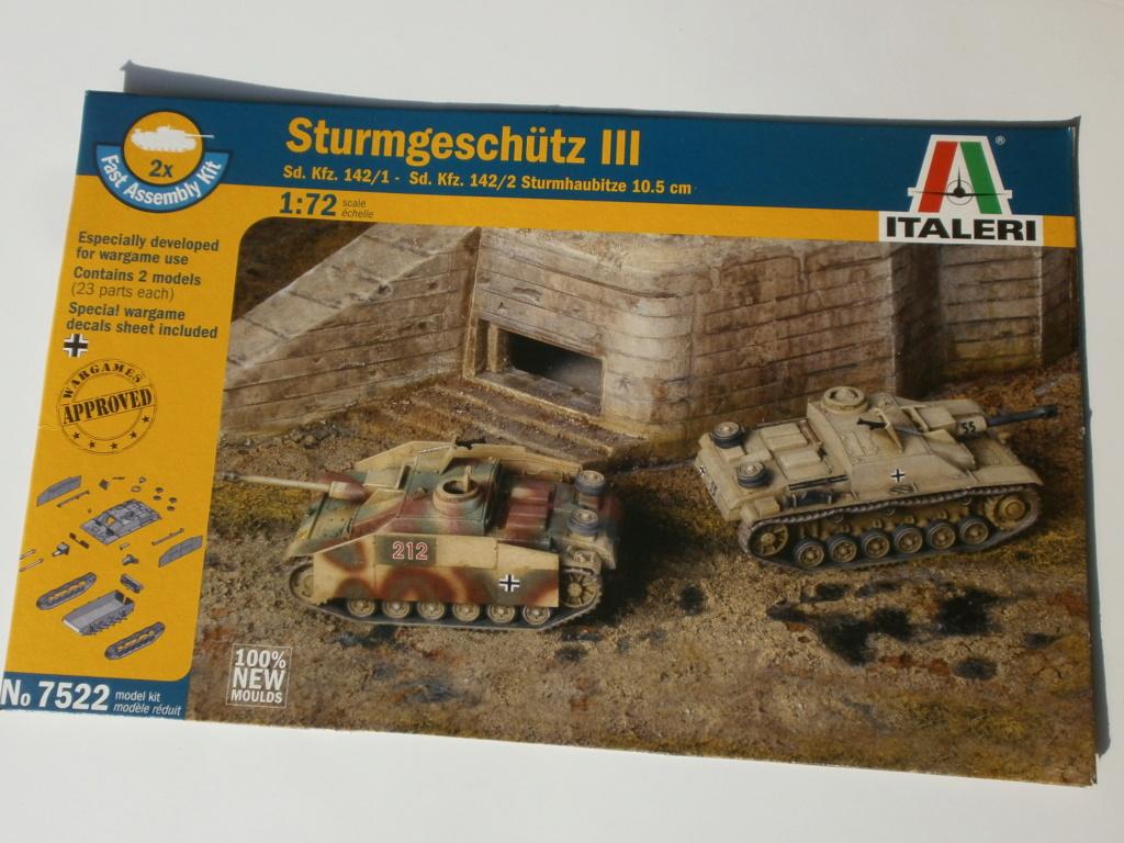 [Italeri] Sturmgeschutz SdKfz 142-1 et 142-2 - Terminés 1186
