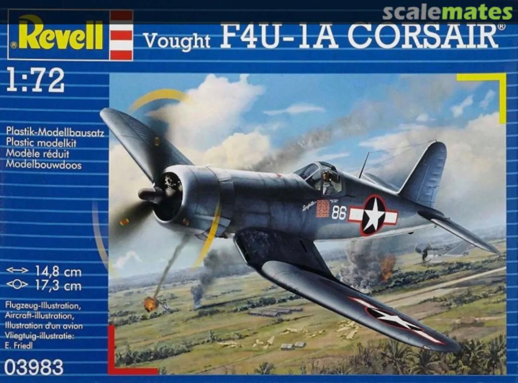 [Revell] Goodyear FG1-D Corsair - Terminé 25897310
