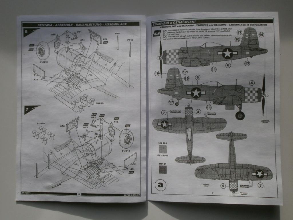 [Special Hobby] Goodyear F2G1 Super Corsair - Terminé 463