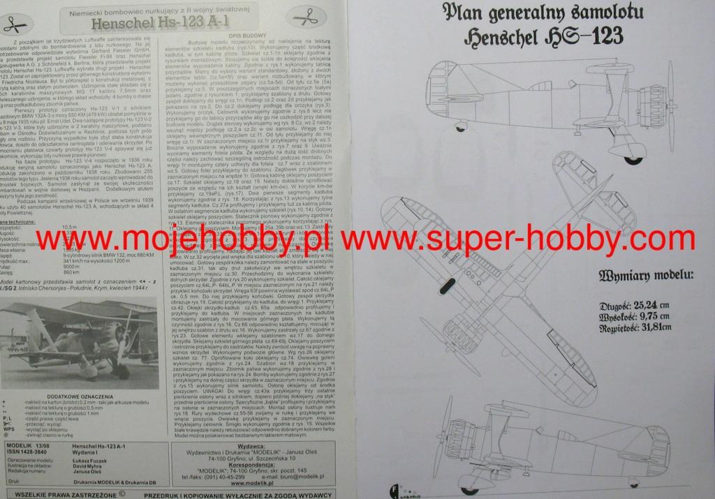 HENSCHEL Hs-123 A-1 de MODELIK au 1/33 5938_111