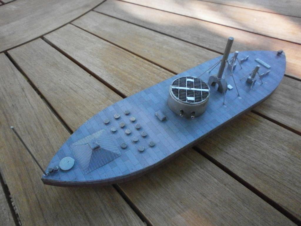 USS MONITOR 1/200 de MODELARSTWO KARTONOWE 715
