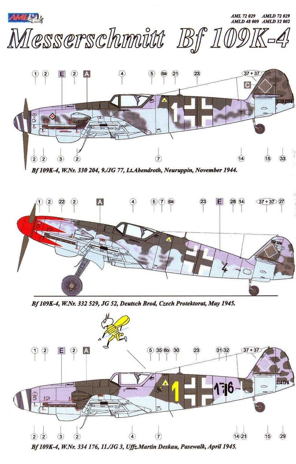 [Heller] Messerschmitt Me 109 K-4 ----- F I N I ----- 8bde7d10