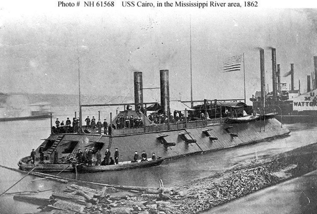 USS CAIRO 1/200 de ORIEL Fms19210