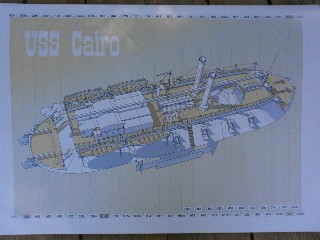 USS CAIRO 1/200 de ORIEL P8240017
