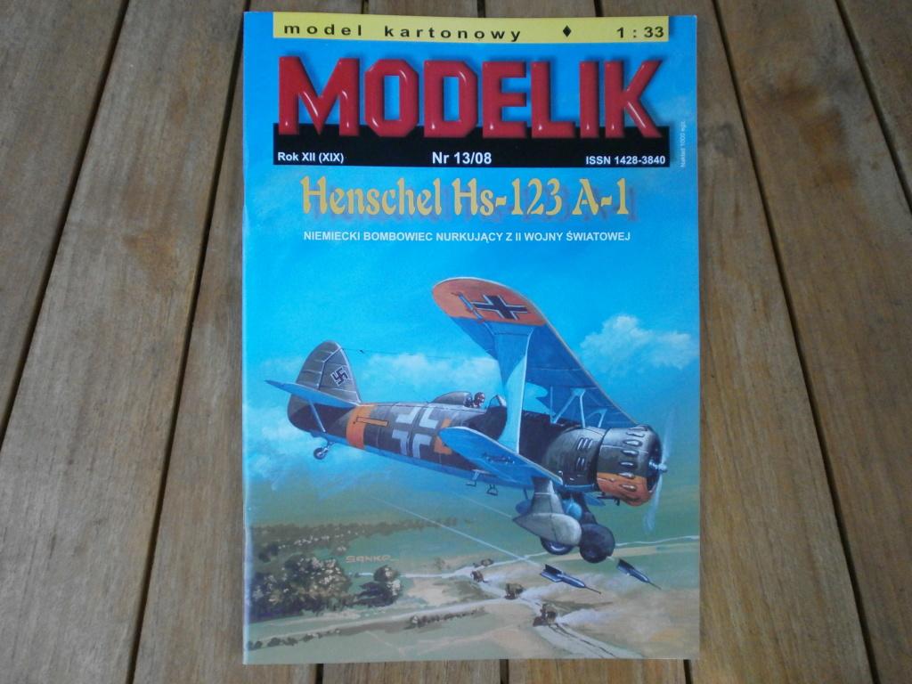HENSCHEL Hs-123 A-1 de MODELIK au 1/33 P9080010