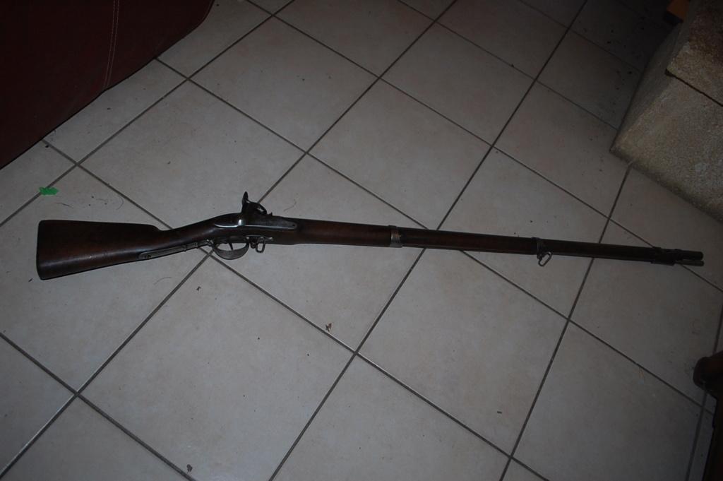 fusil infanterie  poudre noir ancien  Dsc_0421
