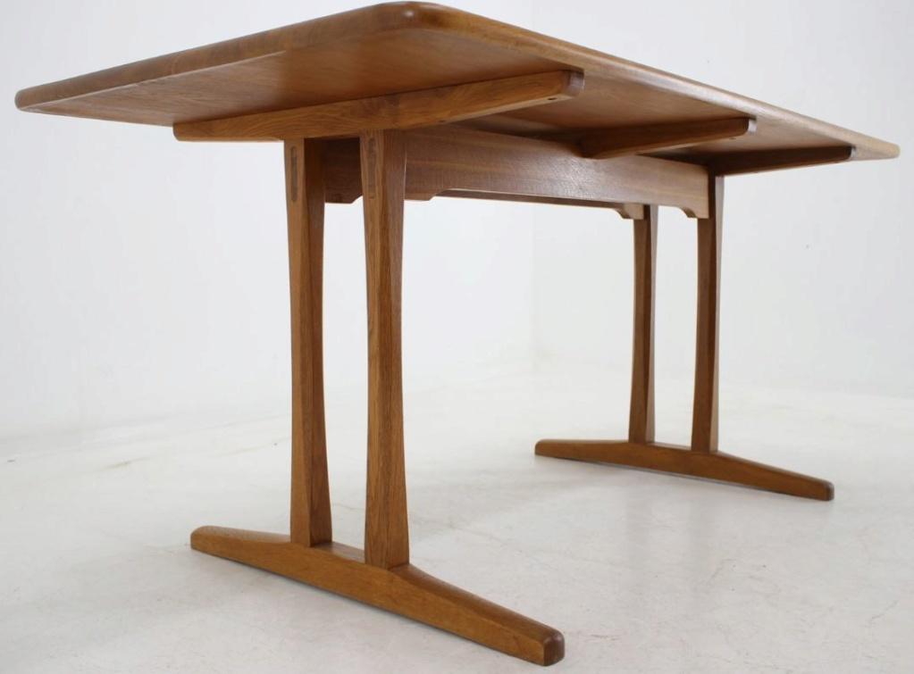Table de cuisine d'inspiration Shaker danoise 111