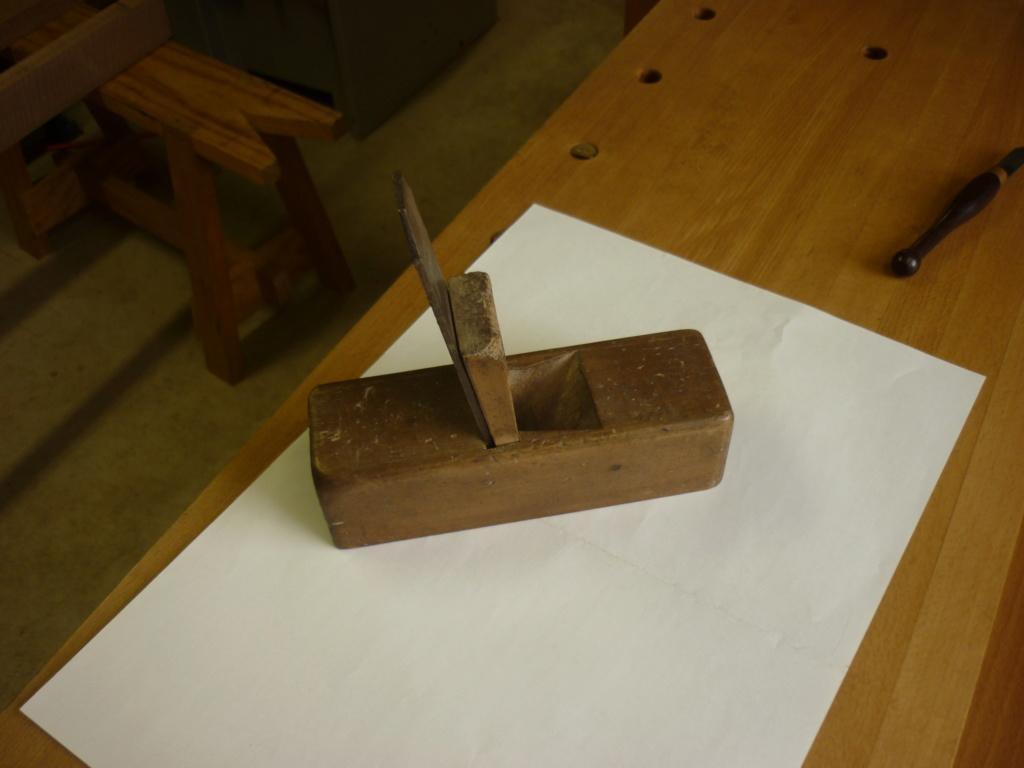 Restauration de rabots en bois. P1080136