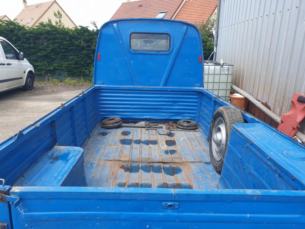 Estafette Pick up en Normandie 20200612