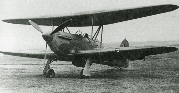 Hurricane Biplan Hurric10