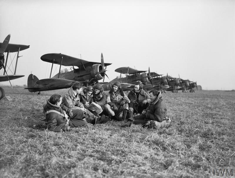 La Royal Air Force en France Mai-Juin 1940 Pilots10