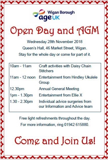 Age UK Wigan Open Day (Wed 28 Nov) 6bb36d10
