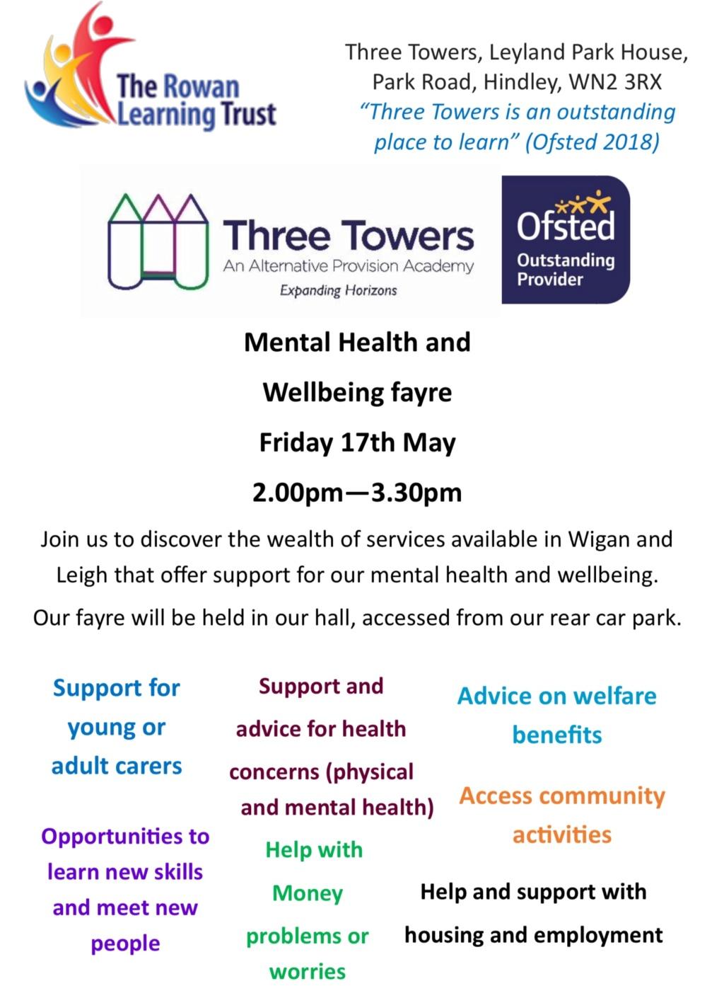Mental Health & Wellbeing Fair, 17th May 9fdc8710