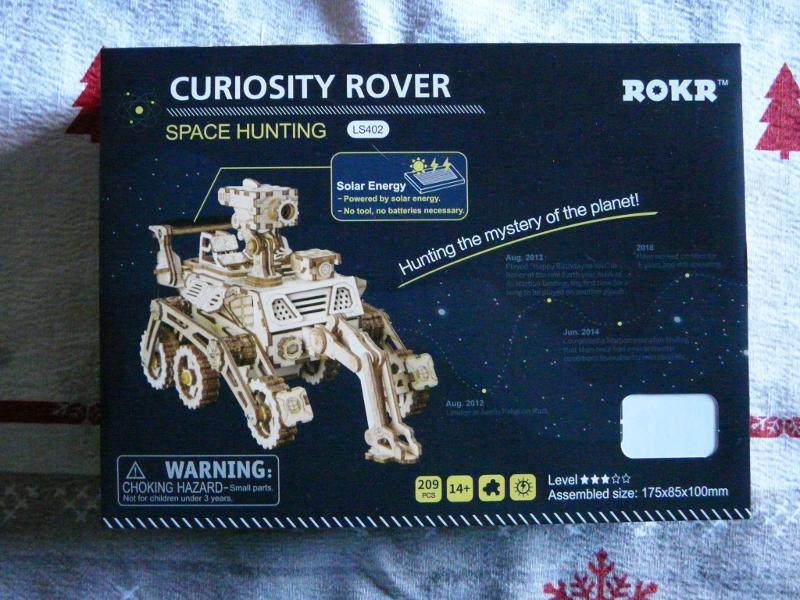 ouvre boite Curiosity Rover ROKR P1150412