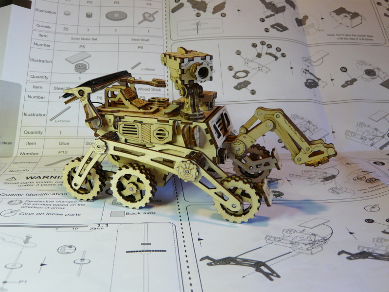 Rover Curiosity ROKR - terminé  P1150710