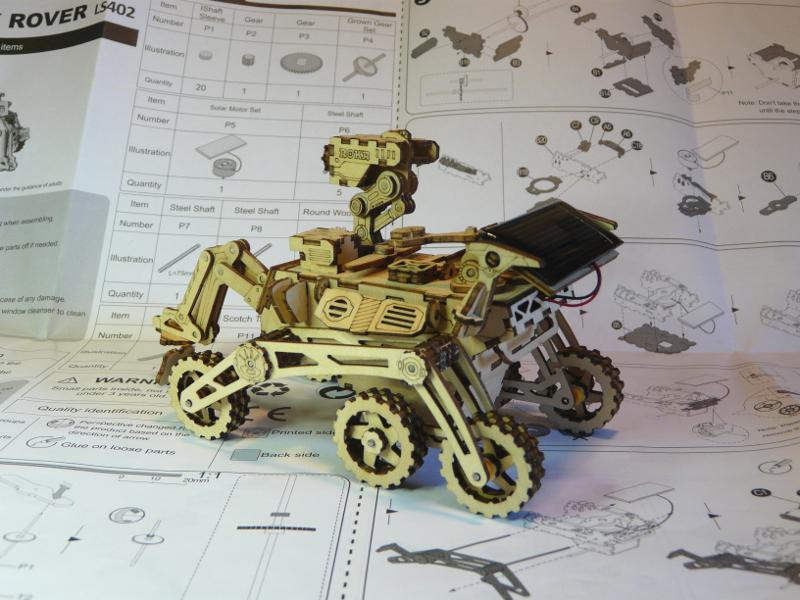 Rover Curiosity ROKR - terminé  P1150711