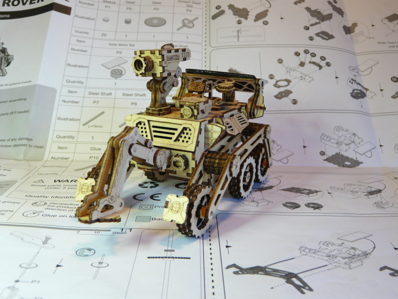 Rover Curiosity ROKR - terminé  P1150712