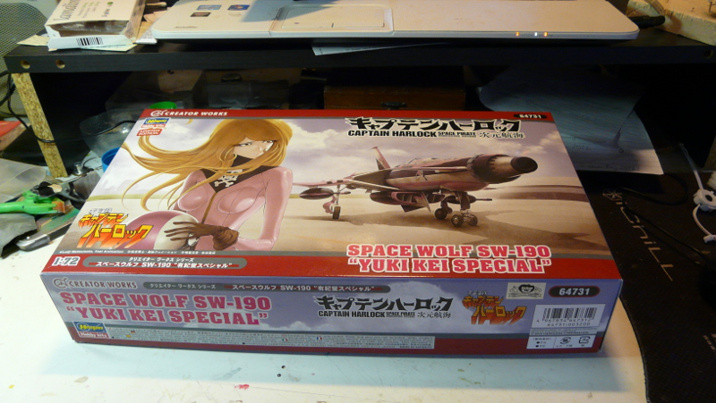 "SW 190 ""Space Wolf""  Hasegawa 1/72 P1160010"