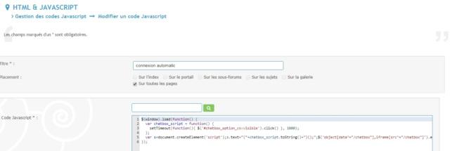 Icone message tutoriel resolu en cours,decalés ,connexion automatique ne fonctionne plus  Captur13