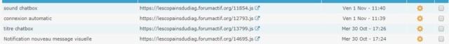 Icone message tutoriel resolu en cours,decalés ,connexion automatique ne fonctionne plus  Script10