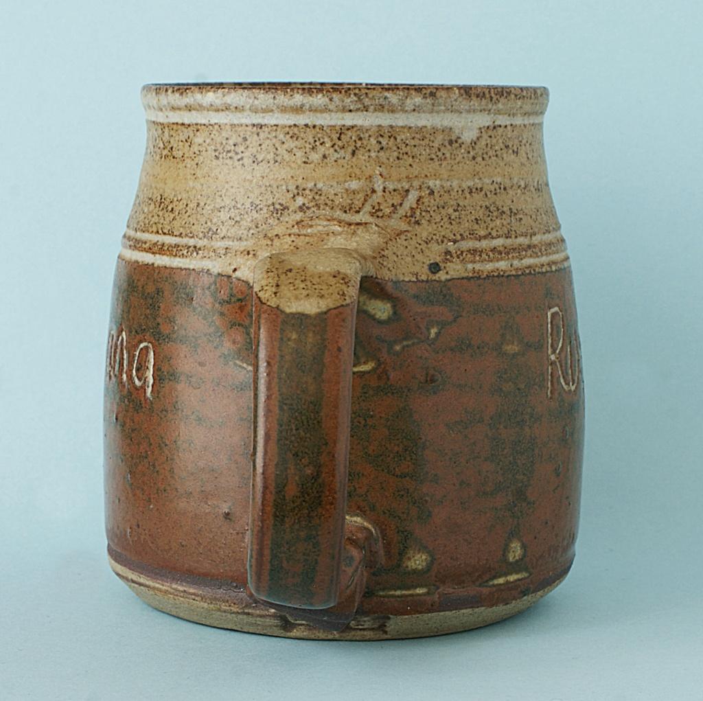 Pottery Mug - Rusticana - Signed. Dsc04010