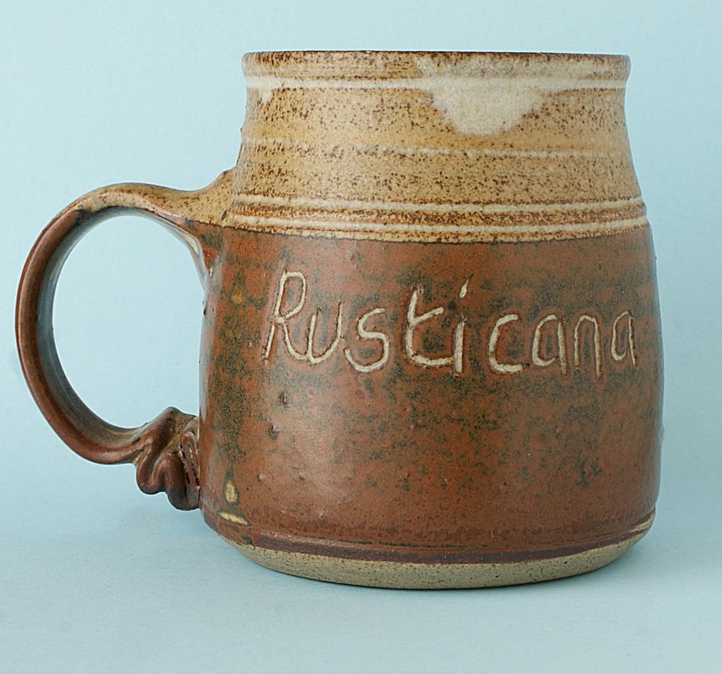 Pottery Mug - Rusticana - Signed. Dsc04011