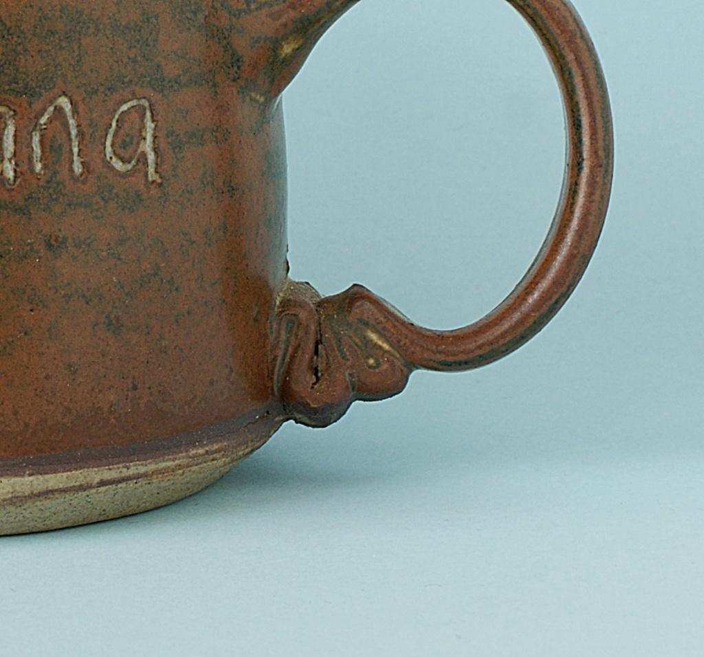 Pottery Mug - Rusticana - Signed. Dsc04015