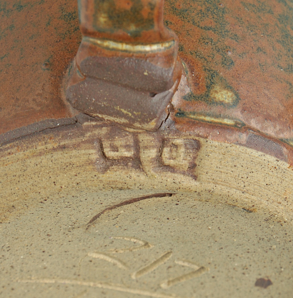 Pottery Mug - Rusticana - Signed. Dsc04017