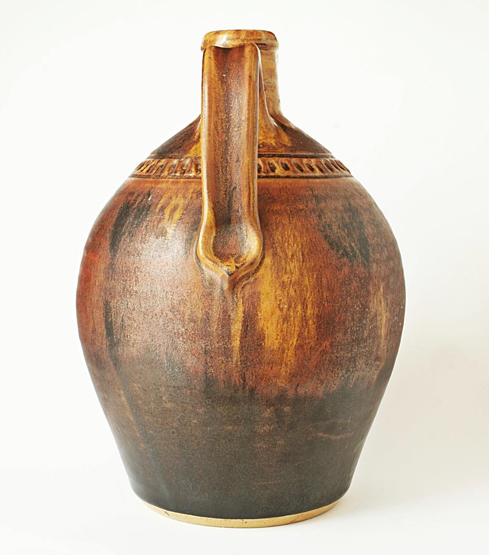 Rustic Pottery Ewer Dsc04110