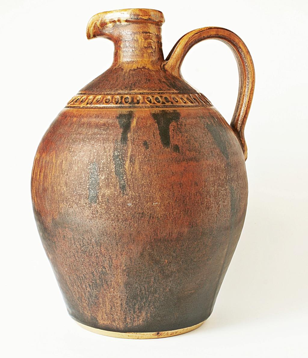 Rustic Pottery Ewer Dsc04111