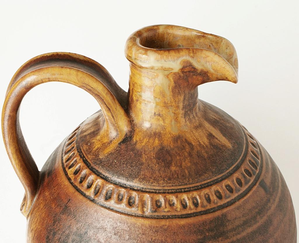 Rustic Pottery Ewer Dsc04115