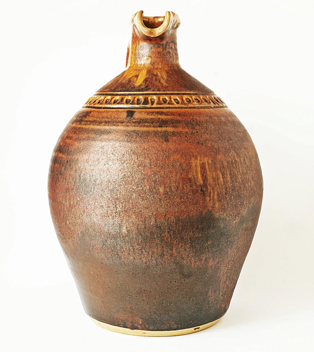 Rustic Pottery Ewer Dsc04116