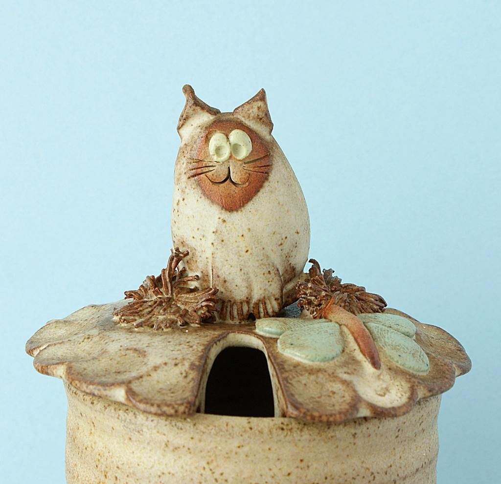 Studio Pottery Jam/Honey Pot Dsc04131