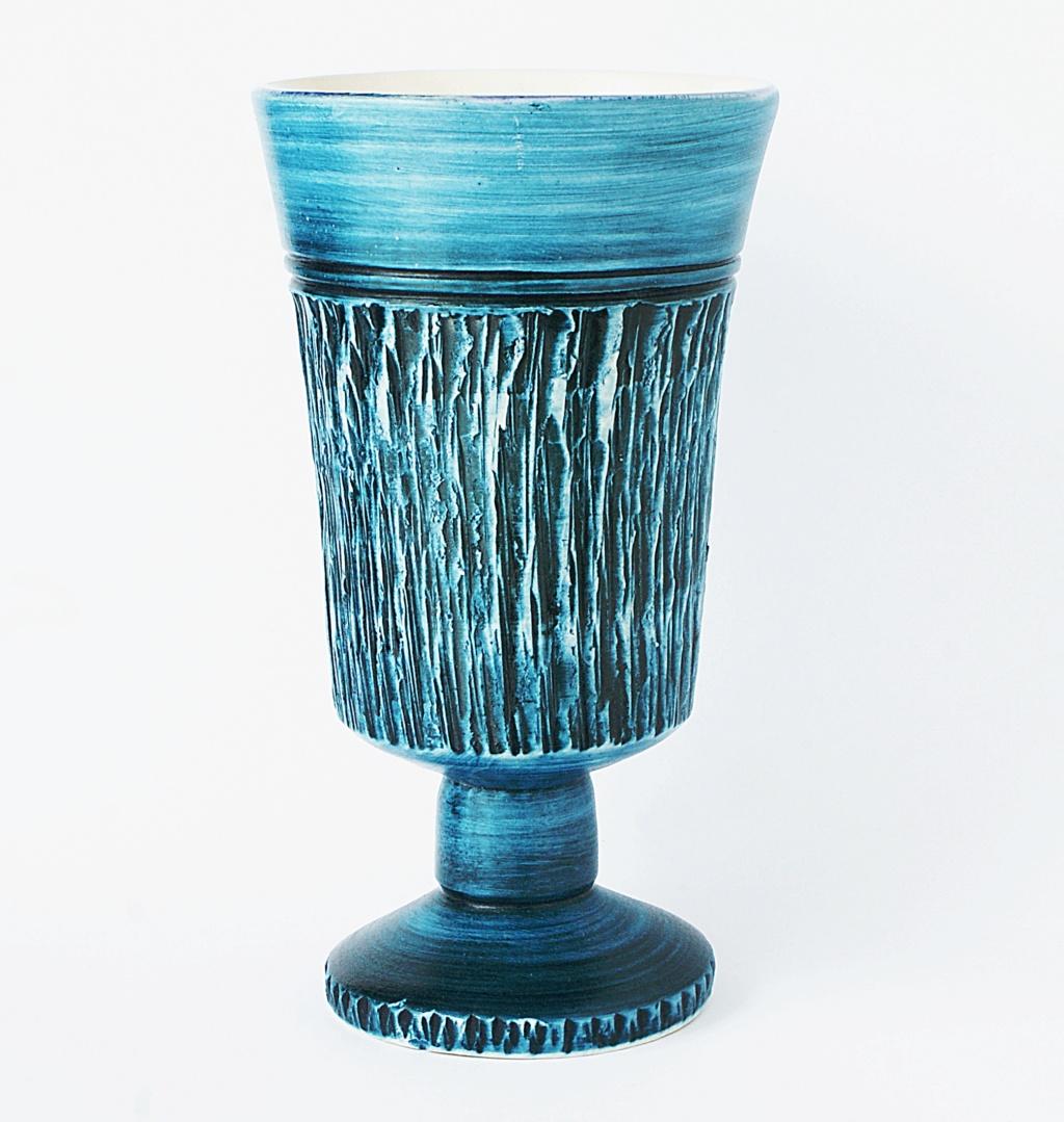 Blue Goblet - Bristow Pottery Dsc04316
