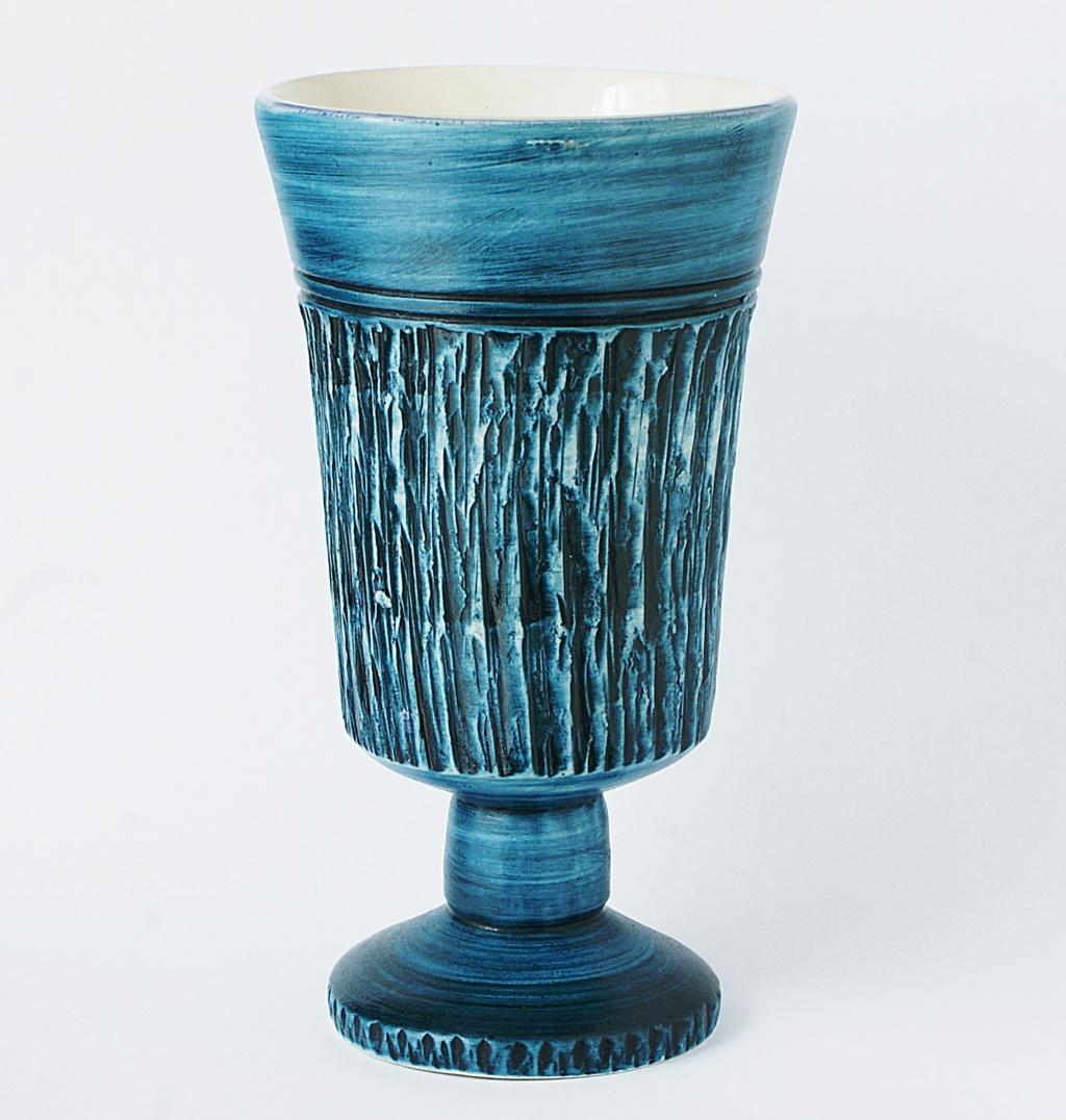 Blue Goblet - Bristow Pottery Dsc04318
