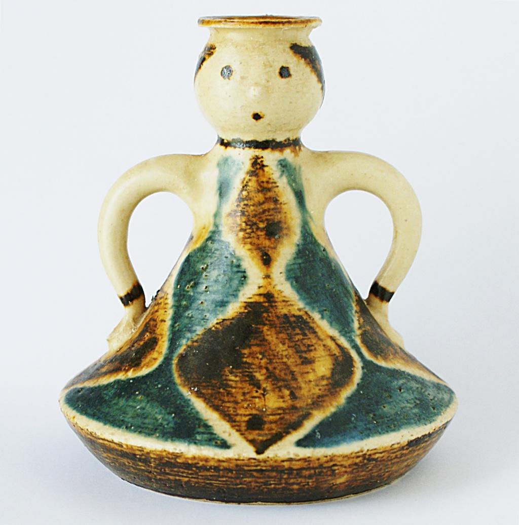 Jørgen Andersen Pottery Candle Holder 1960 - 1970s Dsc04514