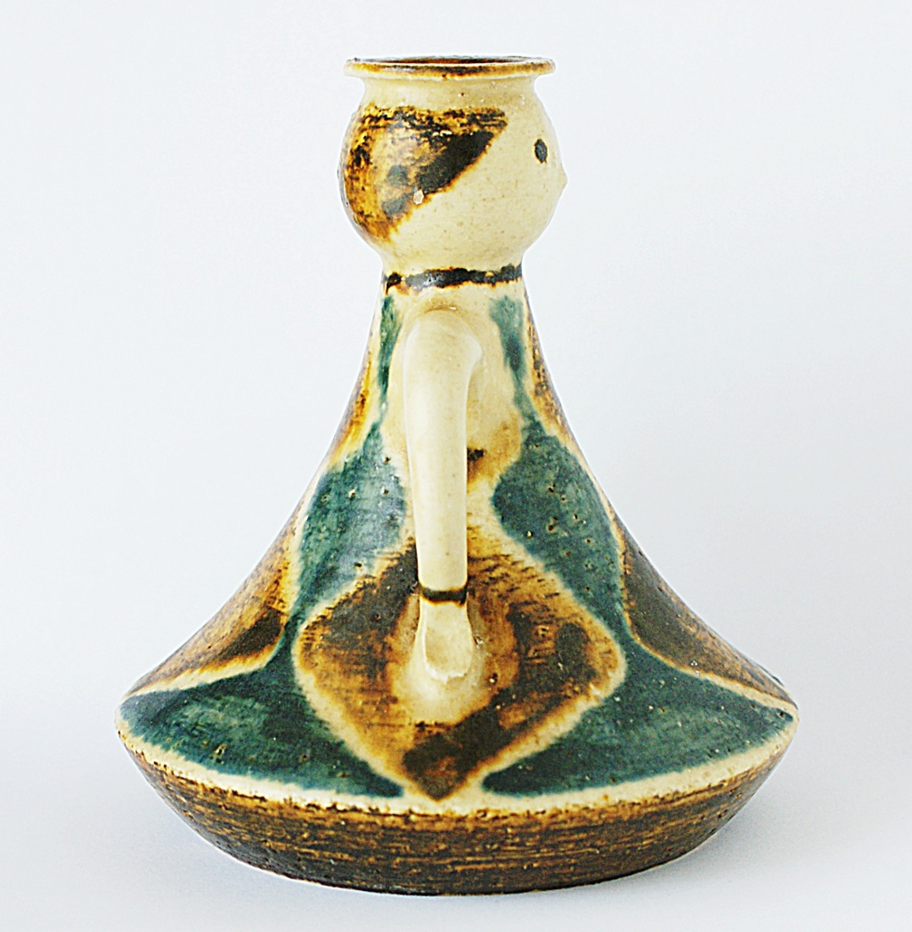 Jørgen Andersen Pottery Candle Holder 1960 - 1970s Dsc04515