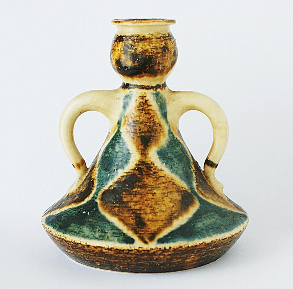 Jørgen Andersen Pottery Candle Holder 1960 - 1970s Dsc04516