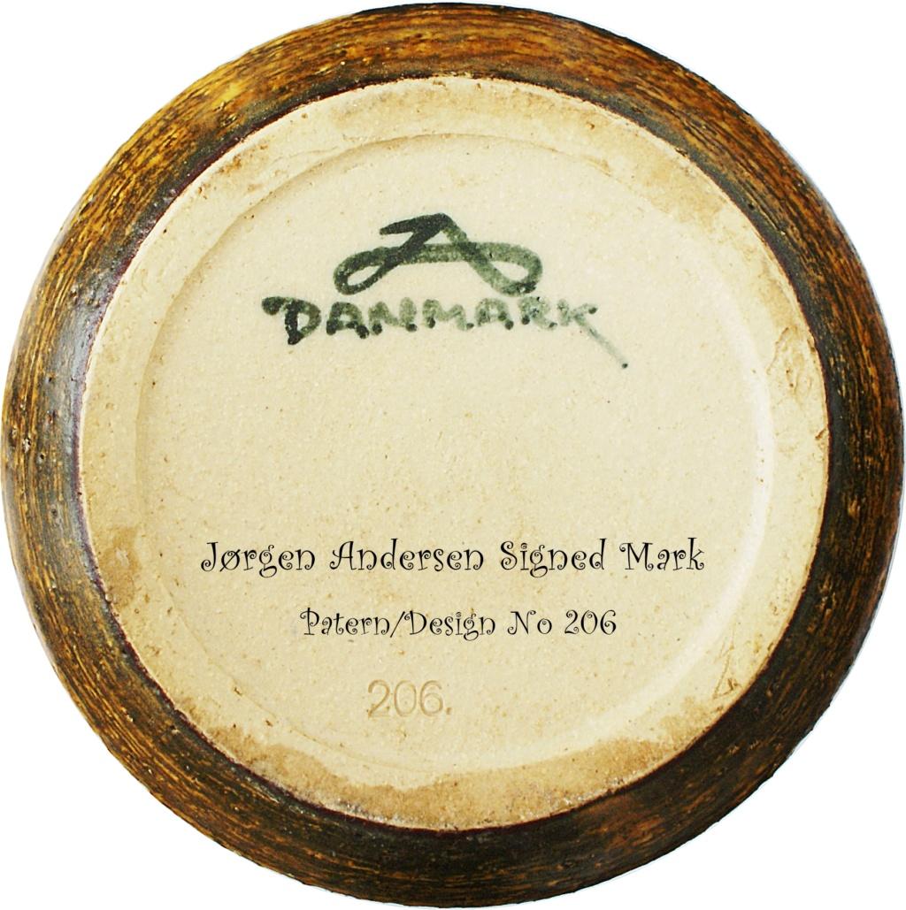 Jørgen Andersen Pottery Candle Holder 1960 - 1970s Dsc04517