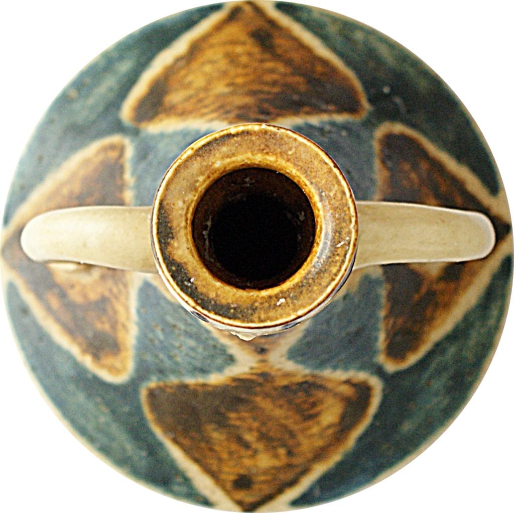 Jørgen Andersen Pottery Candle Holder 1960 - 1970s Dsc04518