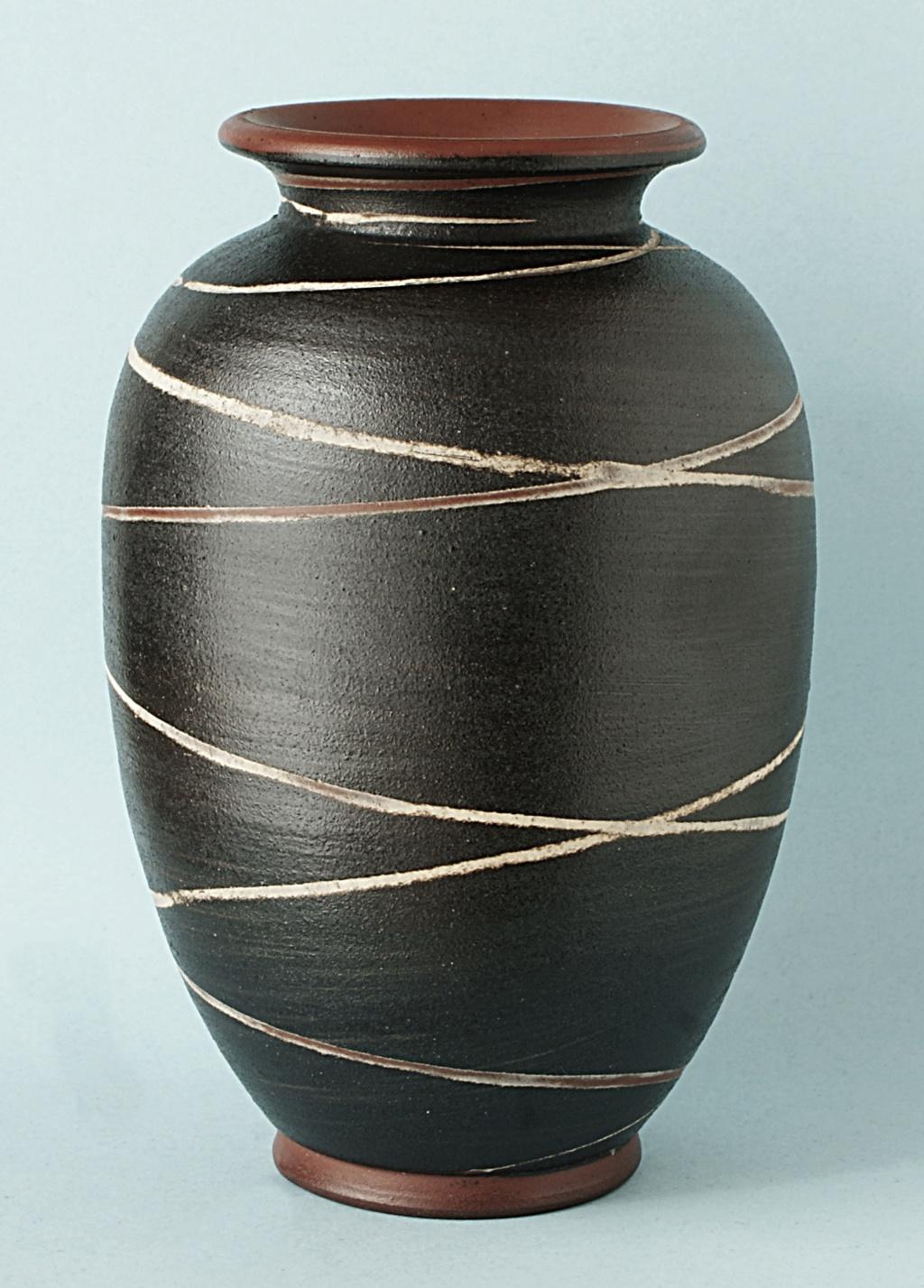 German Pottery Vase: Geseztlich Geschutz.  Dsc04715